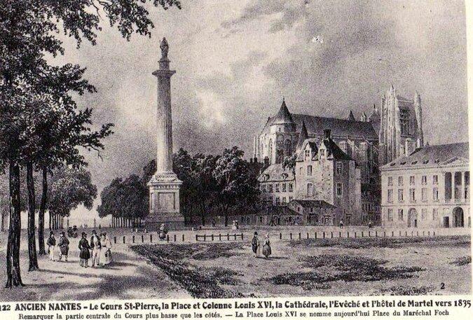 Ancien Nantes - Cours St-Pierre