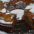 Coffee cake à la rhubarbe
