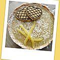 Tarte coco-ananas ( 190 cal par tartelette)