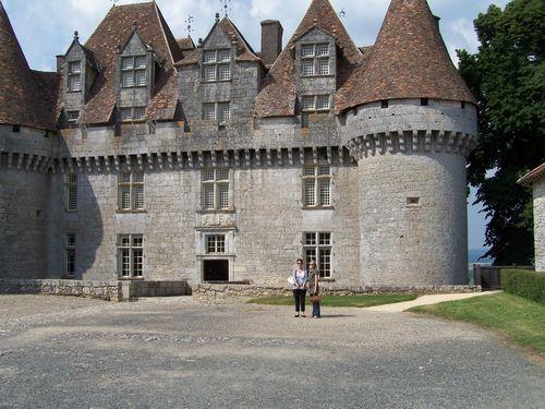 Chateau de Monbazillac avec Malory