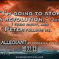 Allegiant Quote Tris and Peter