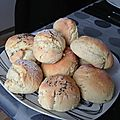 Petits pain au yaourt fjord.