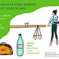 Soutenir sa pratique sportive avec les élixirs floraux / FDB : Rescue, Olive, Rock Water, Larch, Chestnut <b>Bud</b>