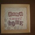 Tableau Home Sweet Home fini Lilipoints