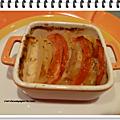 Tian tomates pommes de terre à la mozzarella ww