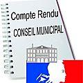 Compte rendu du conseil municipal du 10 février 2017