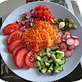 Recette: ma <b>salade</b> <b>fraîcheur</b>