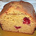 Cake au sirop d'agave