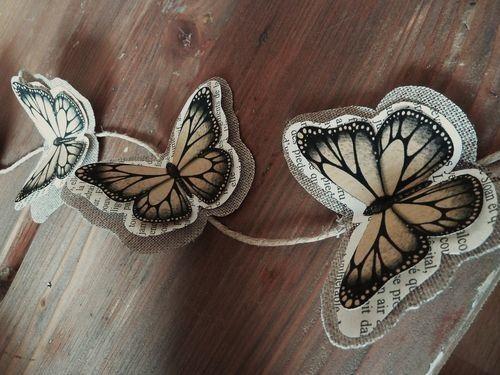 Guirlande l'Effet Papillons