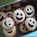 Mes petits gâteaux qui sourient ...
