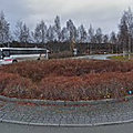 Rond-point à Verdalsora (Norvège)