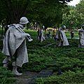 ARLINGTON mémorial de la guerre de Corée