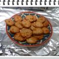 Cookies roquefort et noix pour l'apéritif