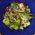 Salade d'hiver folle et colorée