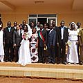LYDIA LUDIC BURKINA ACCOMPAGNE LES MARIAGES COLLECTIFS
