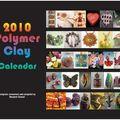 Polymer clay calendar...