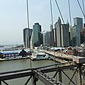 DAY 4 : Brooklyn Bridge - Quai 17 et quartier des affaires