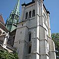 clocher de l'ancienne cathédrale de Genève