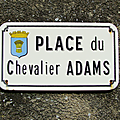 Chantonnay (85), place du Chevalier Adams