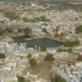 Vue depuis le palais de Mahringhar sur la ville de Jodhpur