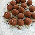 Truffes crunchy chocolat spéculoos