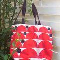 sac plage rouge 1