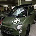 <b>FIAT</b> 500 ARMY... A car for You