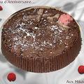 Gâteau d'anniversaire aux mikados