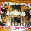 valise en vinyl transparent fait maison, handmade clear vinyl suitcase for games (4)