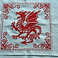 Dragon à suspendre style <b>Pinkeep</b> avec couture biscornu: tuto