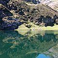 Etang d'Eychelles - Pyrénées ariègeoises