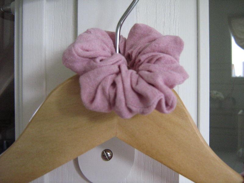 chouchou lin rose pâle