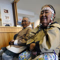 Accueil à Pond Inlet, Nunavut