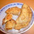Les samosas au potiron d'anne pour le kkvkvk#24 et idées de samosas sucrés