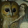 La chouette et le <b>hibou</b>, créatures des ténèbres aux accents funèbres