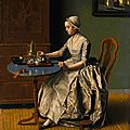One of <b>Liotard</b>'s last oil paintings in private hands to be auctioned at Sotheby's London