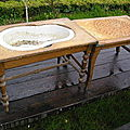 Petits meubles anciens divers