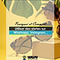 [<b>Social</b> <b>media</b> marketing] Pourquoi utiliser des stories sur Instagram, Facebook et WhatsApp