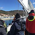 De Trget (Rasa Zaljev, <b>Istrie</b>, Croatie) à Trget (<b>Istrie</b>) - Jeudi 18 mars 2021 - Training cruise from Biograd na Moru to Venice