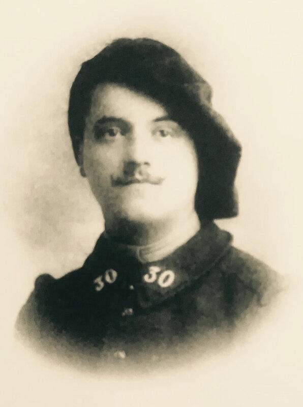 Louis Marandon, uniforme 1914