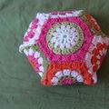Hexagon Pincushion, d'après Leanda Xavian, Dec 2010