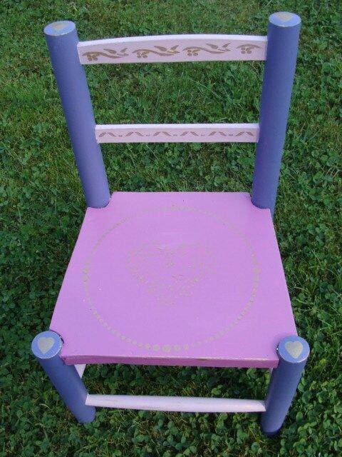chaise fillette
