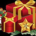 Décembre : cadeaux échangés