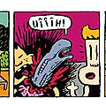Strip 108 / bill et bobby / alien