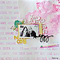 Page Happy - <b>Brusho</b> Rose Red