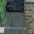 Marie GUERLOT 1872 1902 Isidore LENEL 1964 1934