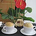 Briochettes au thé vanille et au chocolat de pâques pour le foodista challenge #29