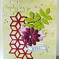 carte floral