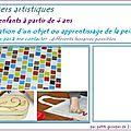 Ateliers artistiques pour enfants