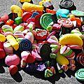 tas de bonbons